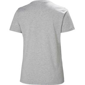 Helly Hansen W's HH Logo T-Shirt Grey Melange